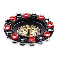 Пьяная рулетка, набор для игры в пьяную рулетку, рулетка с рюмками, алкоигра рулетка с рюмками, алкорулетка, п'яна рулетка, рулетка з чарками, фото 1