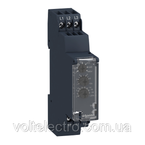 Реле контроля чередования обрыва фаз, 2С/О, 8А RM22TG20