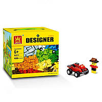 Детский конструктор Wange Designer, аналог Lego 625 деталей, с доставкой по Киеву и Украине