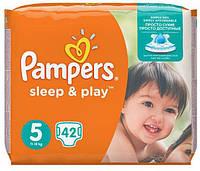 Подгузники Pampers Sleep & Play Junior 5 (11-18 кг), 42 шт