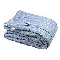 "Одеяло особо теплое Руно™ 172х205см Шерстяное в бязи ""322.116ШУ"" Сиреневый, фото 1"