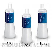 Оксидант Wella Professionals Welloxon Perfect 1000ml, 6%, 9%, 12%.