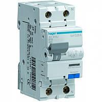 Дифференциальный автоматический выключатель двухполюсный 6kА 300mA