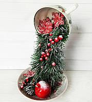 Новорічна ширяюча чашка Подарунки на Миколая, Новий рік, Різдво Ручна робота