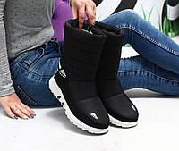 Жіночі чобітки дутики, фото 1