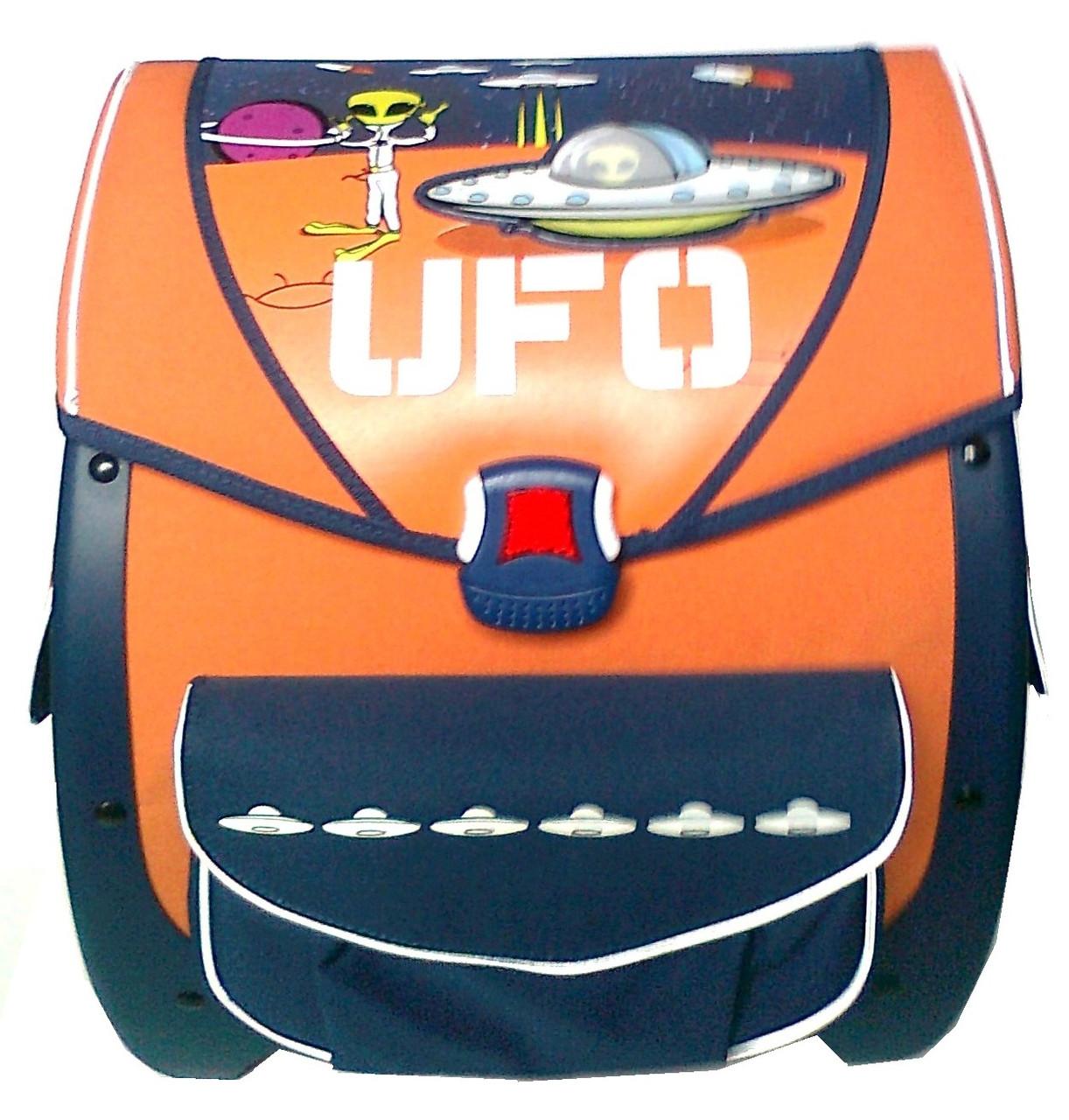 Ранец школьный 1601 оранжевый