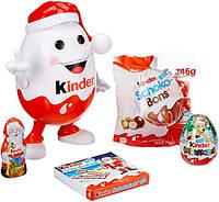 Новогодний Kinder Mix Kinderino Киндерино копилка со сладостями киндер., фото 1