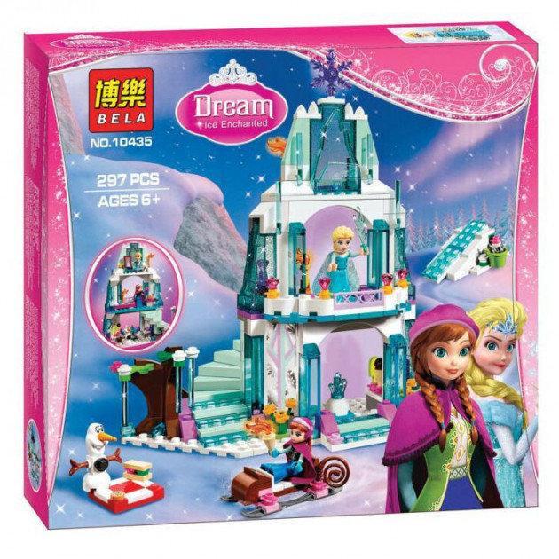 """Конструктор Bela 10435 """"Ледяной замок Эльзы"""" 297 деталей. Аналог Lego Disney Princess 41062"""