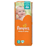 Подгузники Pampers Sleep & Play Midi 3 (4-9 кг), 58шт