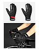 Зимние непродуваемые велосипедные перчатки INBIKE WF109 с мембраной WINDSTOPPER для сенсорных экранов