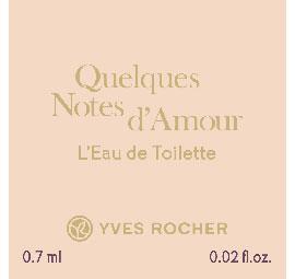 Туалетная Вода Quelques Notes d'Amour