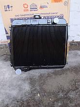 Радиатор Газ 24 , Волга (2-х рядный, медно-латунный, ШААЗ, Россия)