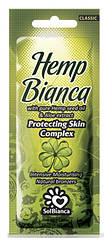 Крем для загара в солярии Solbianca Hemp Bianca с маслом конопли и экстрактом алое, 15 ml