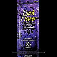 Крем для загара в солярии Solbianca Dark Flower с экстрактом винограда, алое и бронзаторами, 15 ml