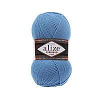 Пряжа Alize Lanagold Fine 245 морская волна (Ализе Ланаголд файн)