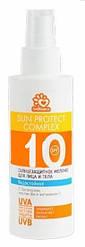 Солнцезащитное, водостойкое молочко Solbianca 10 SPF для лица и тела 150ml