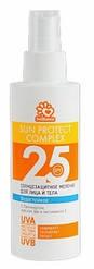 Солнцезащитное, водостойкое молочко Solbianca 25 SPF для лица и тела 150ml