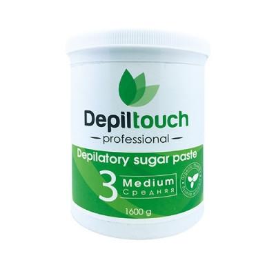 Сахарная паста для депиляции средняя Depiltouch Professional 1600g