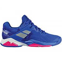Кроссовки теннисные женские Babolat PROPULSE FURY ALL COURT W  PRINCESS BLUE/FANDANGO PINK 31S18477/4027