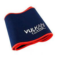Пояс Вулкан для похудения (Vulkan Extra Long), цвет - синий, с доставкой по Киеву и Украине
