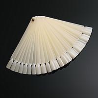 Палитра-веер для 50 образцов лаков матовая