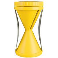 Овощерезка спиральная Spiral Slicer - желтая, терка для для овощей с доставкой по Киеву и Украине