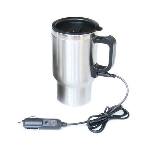 Кружка автомобильная Electric Mug, 350 мл., авто-кружка, с доставкой по Украине