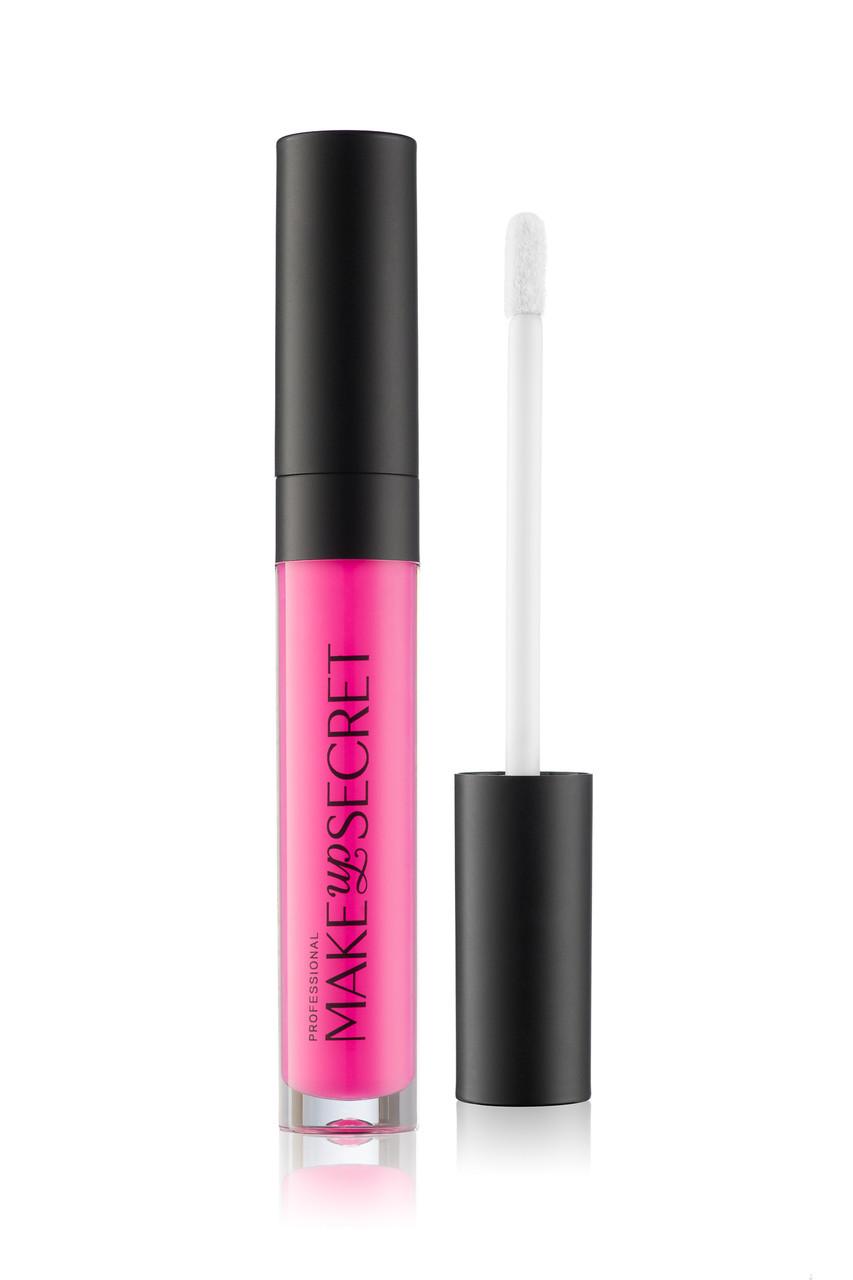 MakeUP Secret Ультрастойкая матовая жидкая помада LPT12 (Lip Paint LPT12) яркая фуксия