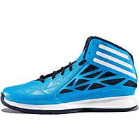 Кроссовки мужские adidas Crazy Fast 2 G98330 (синие, баскетбольные, летние, перфорированные, бренд адидас), фото 1