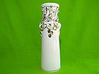 Керамическая настольная ваза резка «Элита» (лепка)