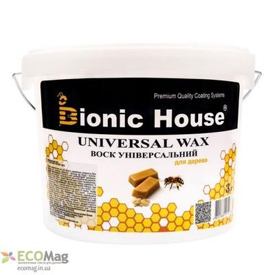 Воск универсальный Bionic House Universal Wax 3л