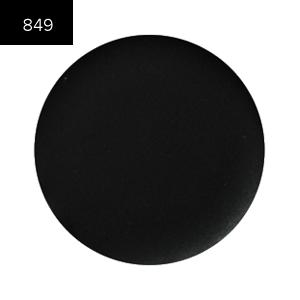 MakeUP Secret Помада №849 (Lip Color) плотный чорный полуматовый