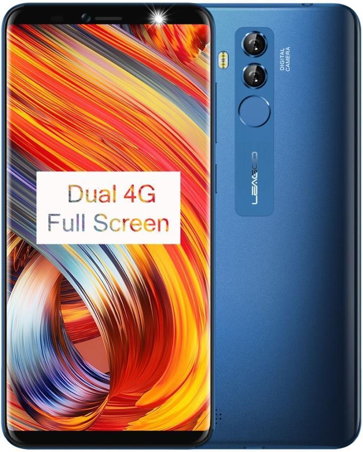 "Смартфон Leagoo M9 Pro Blue 2/16Gb,13+2/5Мп, MT6739V, 2sim, 5.72"" IPS, 3000мАч, GPS, 4 ядра, 4G"