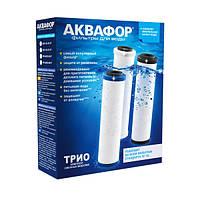 Комплект сменных модулей картриджей для Аквафор Трио В510-03-02-07.