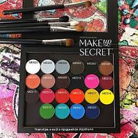 MakeUP Secret Тени-гибрид минерал. MES 11 (Mineral Eyeshadow MES 11) ярко-розовый
