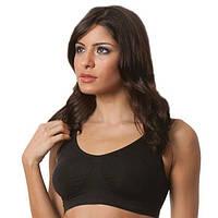 Бюстгальтер спортивный A bra (А Бра) Aire Bra, чёрный - M, нижнее белье, с доставкой по Киеву и Украине
