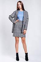 Женский пиджак в клеточку, фото 1