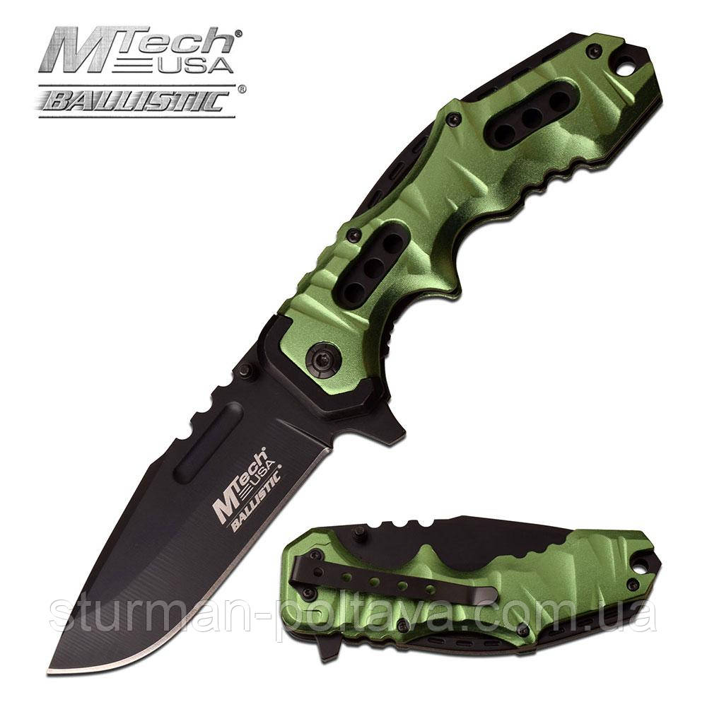 "Hож  складной MTECH USA MT-A953GN SPRING ASSISTED KNIFE 4.7"" CLOSED"
