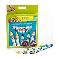 Цветные карандаши из красного дерева для малышей (8 шт), Mini Kids