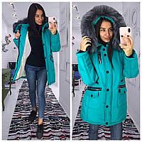 Курточка зимняя с капюшоном женская Letta в Украине. Сравнить цены ... f874345131662