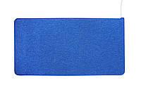 Ковер с инфракрасным подогревом, электрический коврик, цвет - синий, с доставкой по Украине