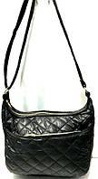 Стеганные женские сумки (черный стеганный)26*37см, фото 1