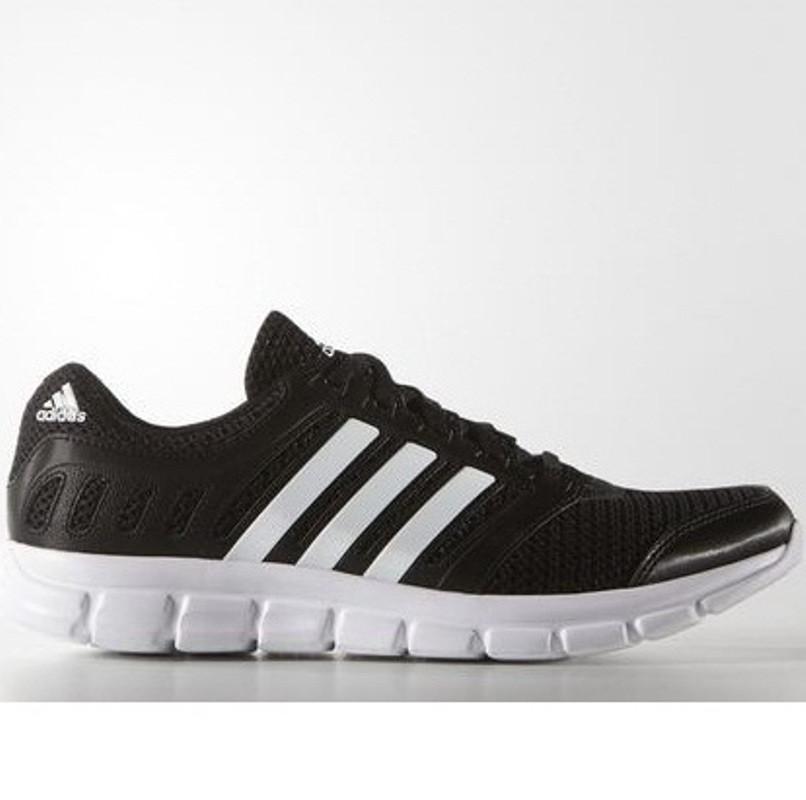 Кроссовки мужские adidas BREEZE 101 AF5340 (черные, для тренировок, летние, верх из текстиля, бренд адидас)