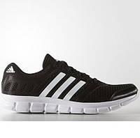 Кроссовки мужские adidas BREEZE 101 AF5340 (черные, для тренировок, летние, верх из текстиля, бренд адидас), фото 1