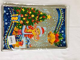 Пакет фольгированный новогодний 20*30