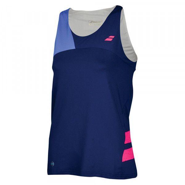 b489e3512561 Майка для тенниса женская Babolat PERF TANK TOP WOMEN ESTATE BLUE/WEDGEWOOD  2WS18072/4002