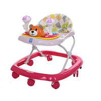 Ходунки «Bambi» Медвежонок M 3656 (Розовый)