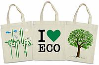 Эко сумки на заказ. Эко сумки с логотипом в Киеве.