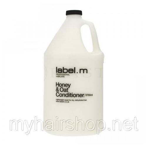 Кондиционер питательный Мед и Овес LABEL.M Honey & Oat Conditioner 3750 мл