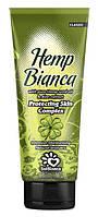 Крем для загара в солярии Solbianca Hemp Bianca с маслом конопли и экстрактом алое 125 ml
